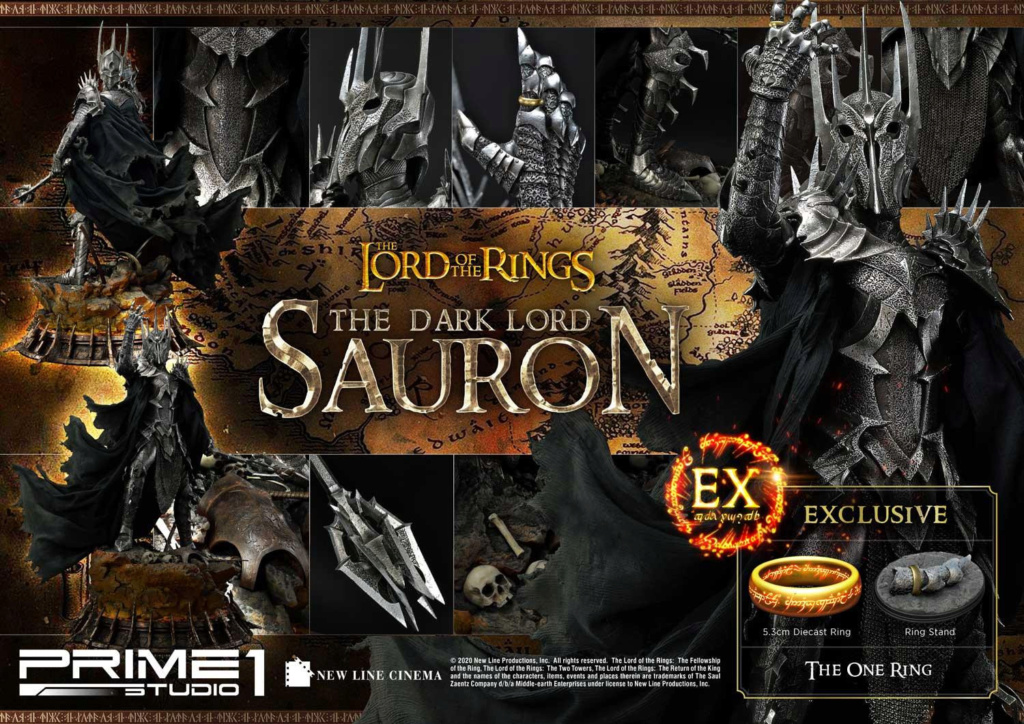 Lord of the Rings – Sauron 1/4 Scale Statue Prime281