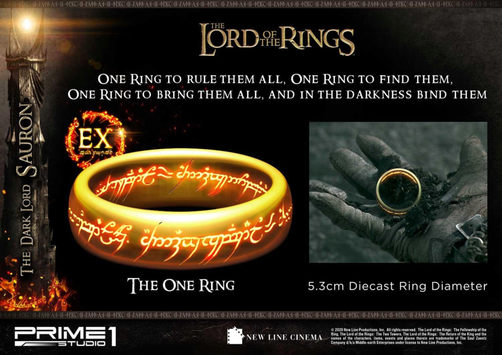 Lord of the Rings – Sauron 1/4 Scale Statue Prime282