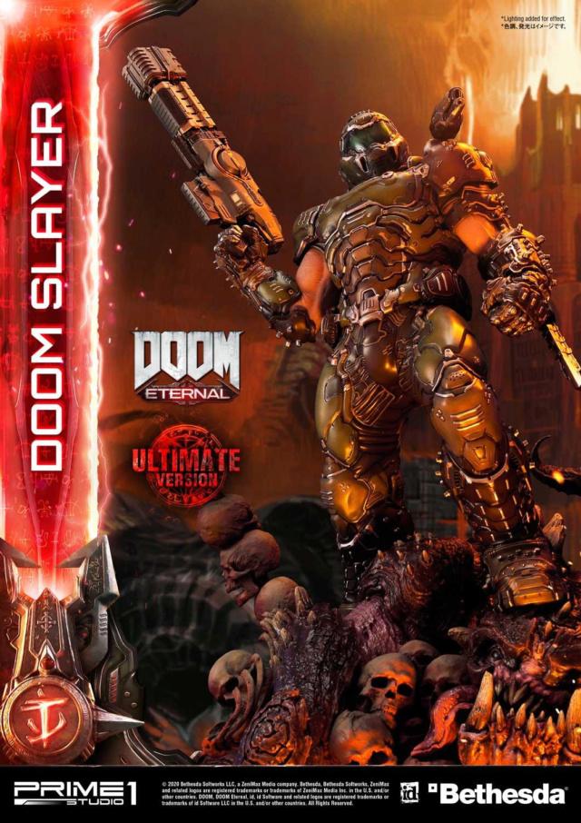 Doom Eternal - Ultimate Museum Masterline Doom Slayer 1/3 statue Prime284