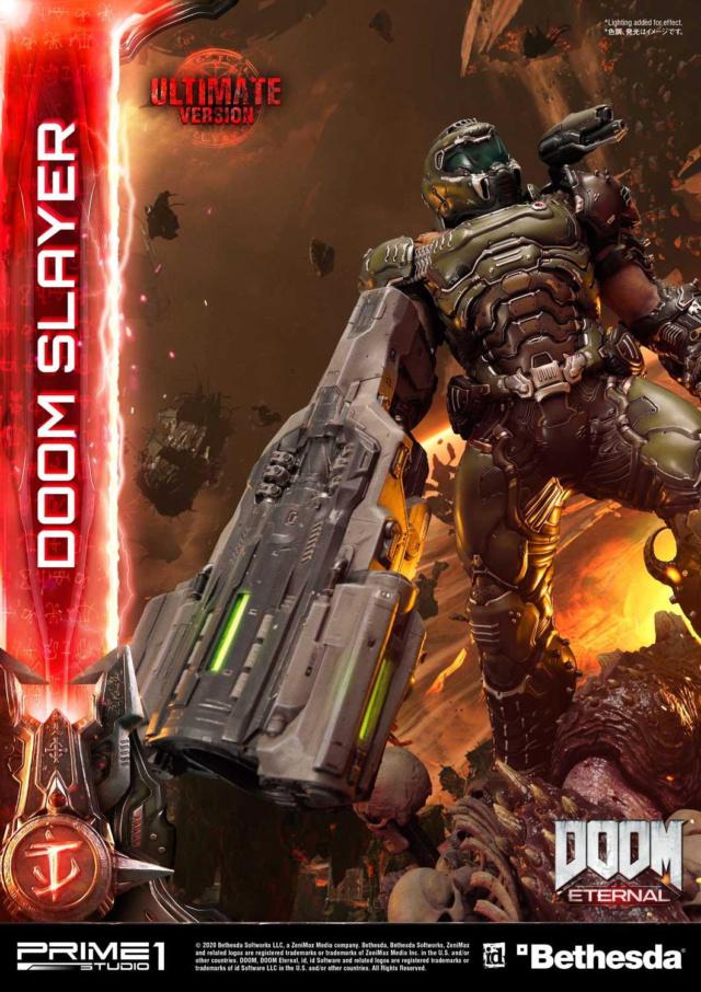 Doom Eternal - Ultimate Museum Masterline Doom Slayer 1/3 statue Prime285