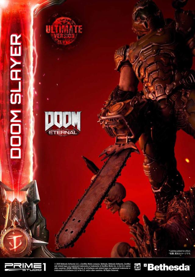 Doom Eternal - Ultimate Museum Masterline Doom Slayer 1/3 statue Prime286
