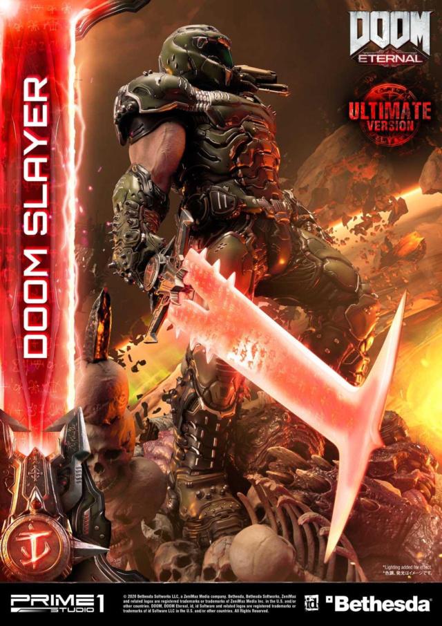 Doom Eternal - Ultimate Museum Masterline Doom Slayer 1/3 statue Prime287