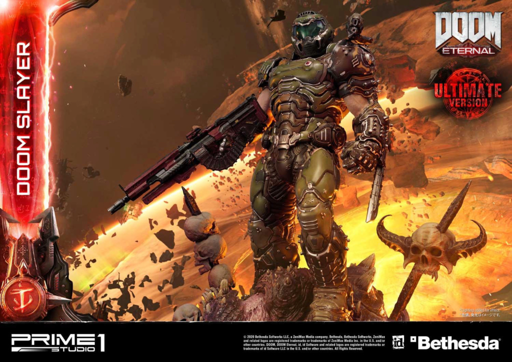 Doom Eternal - Ultimate Museum Masterline Doom Slayer 1/3 statue Prime288