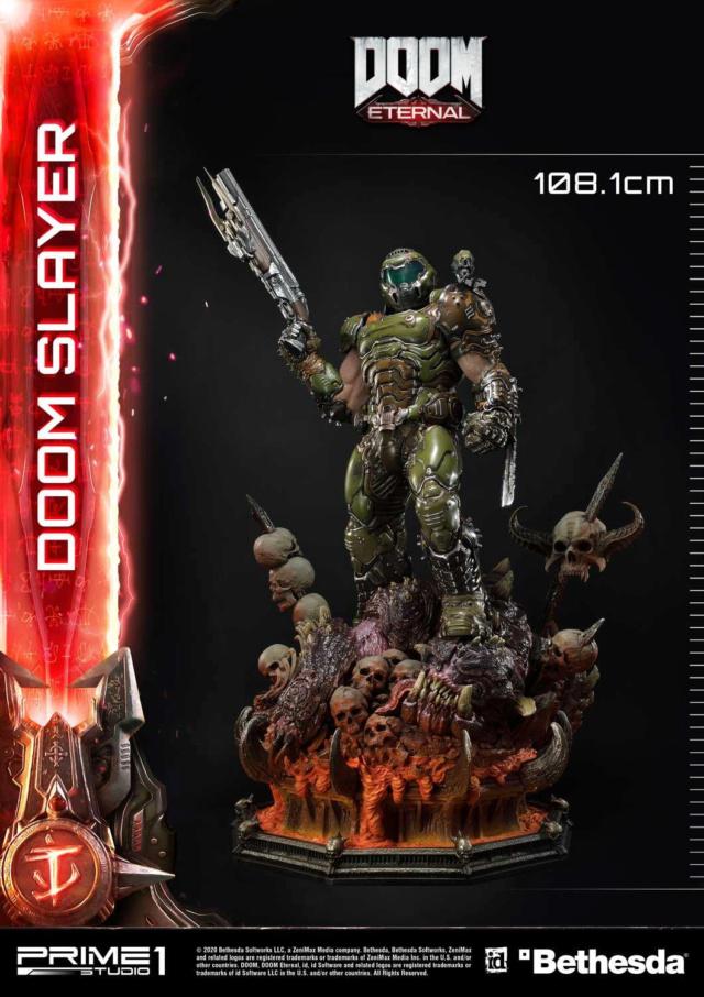 Doom Eternal - Ultimate Museum Masterline Doom Slayer 1/3 statue Prime291