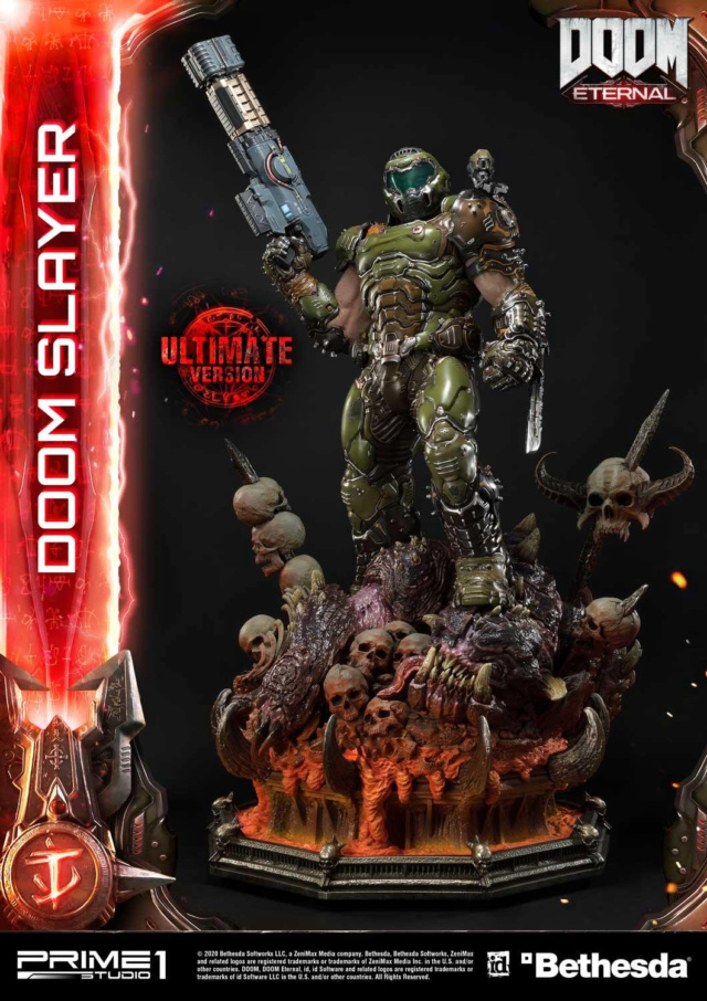 Doom Eternal - Ultimate Museum Masterline Doom Slayer 1/3 statue Prime292