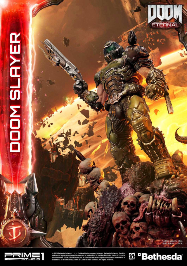 Doom Eternal - Ultimate Museum Masterline Doom Slayer 1/3 statue Prime295
