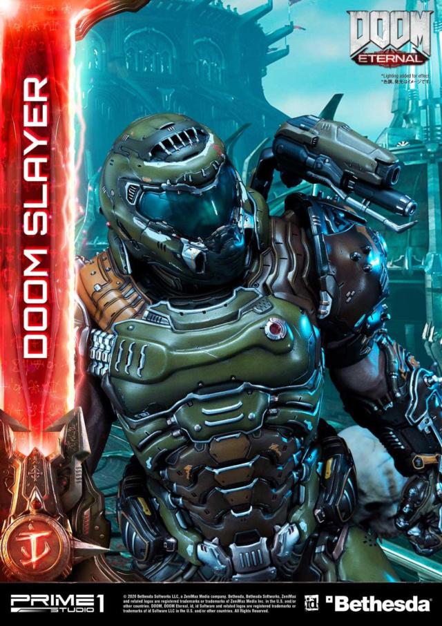 Doom Eternal - Ultimate Museum Masterline Doom Slayer 1/3 statue Prime296