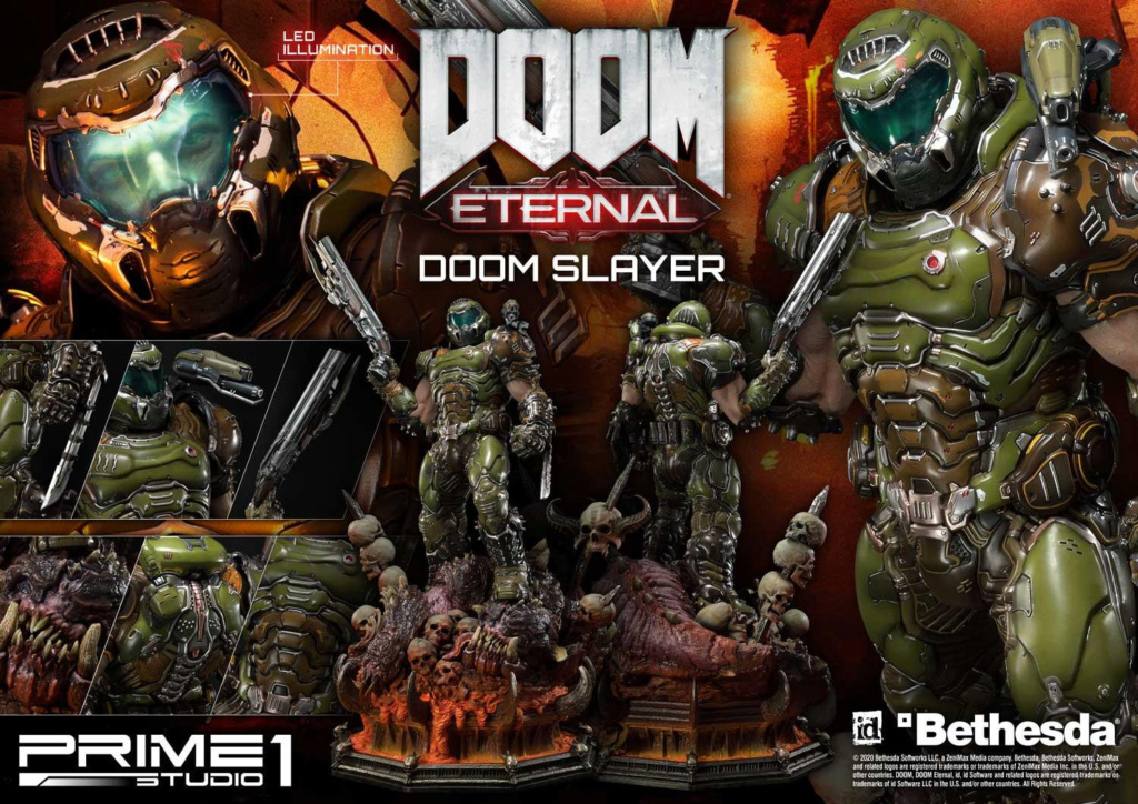 Doom Eternal - Ultimate Museum Masterline Doom Slayer 1/3 statue Prime299