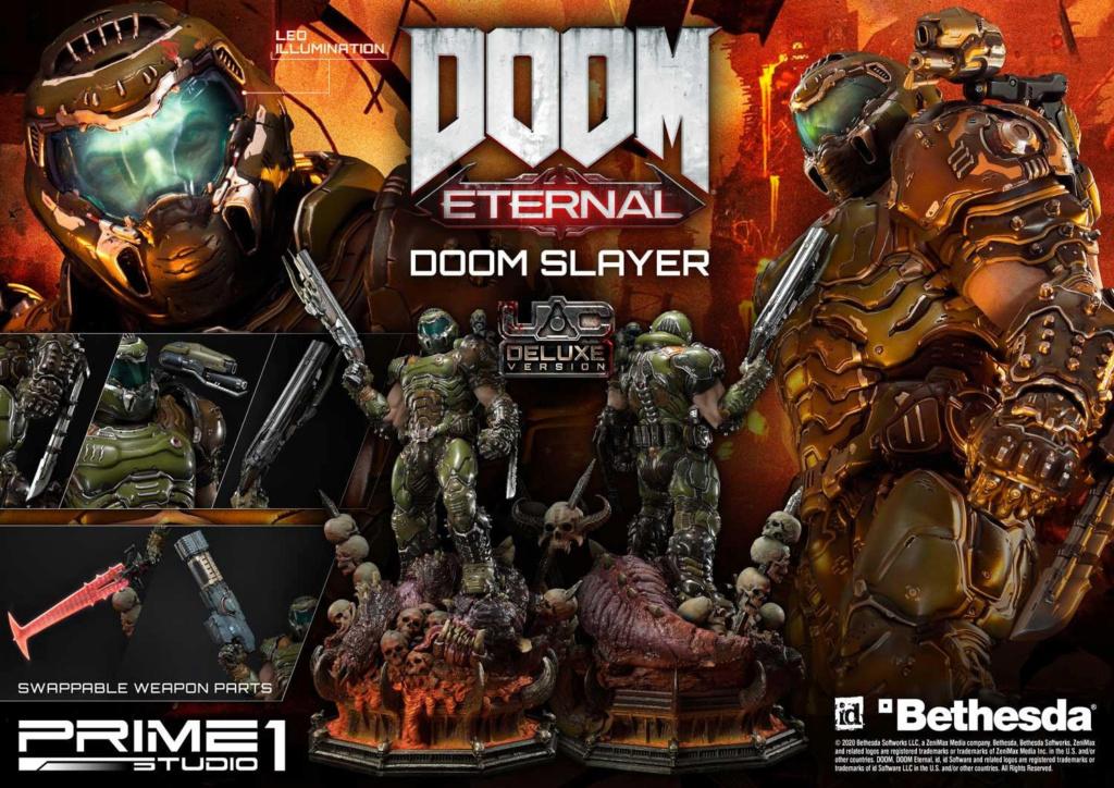 Doom Eternal - Ultimate Museum Masterline Doom Slayer 1/3 statue Prime300