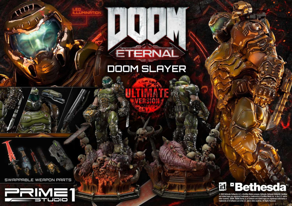 Doom Eternal - Ultimate Museum Masterline Doom Slayer 1/3 statue Prime301