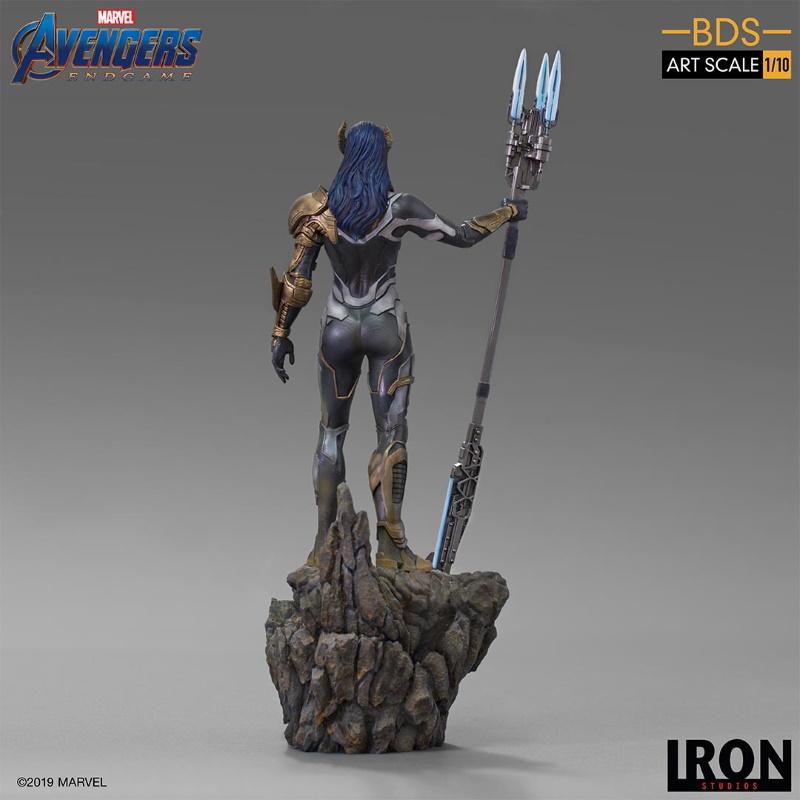 IRON STUDIOS : Avengers: Endgame - Proxima Midnight Black Order BDS Art Scale 1/10 Proxim13