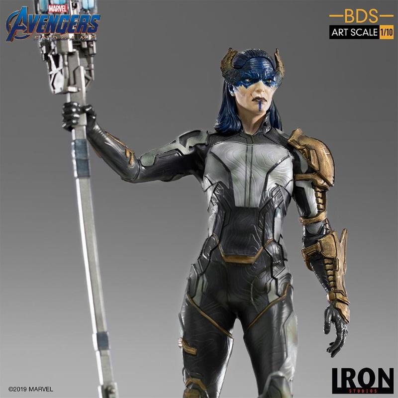 IRON STUDIOS : Avengers: Endgame - Proxima Midnight Black Order BDS Art Scale 1/10 Proxim15