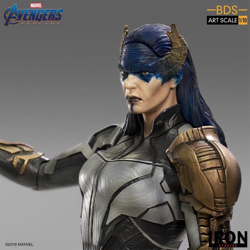 IRON STUDIOS : Avengers: Endgame - Proxima Midnight Black Order BDS Art Scale 1/10 Proxim16