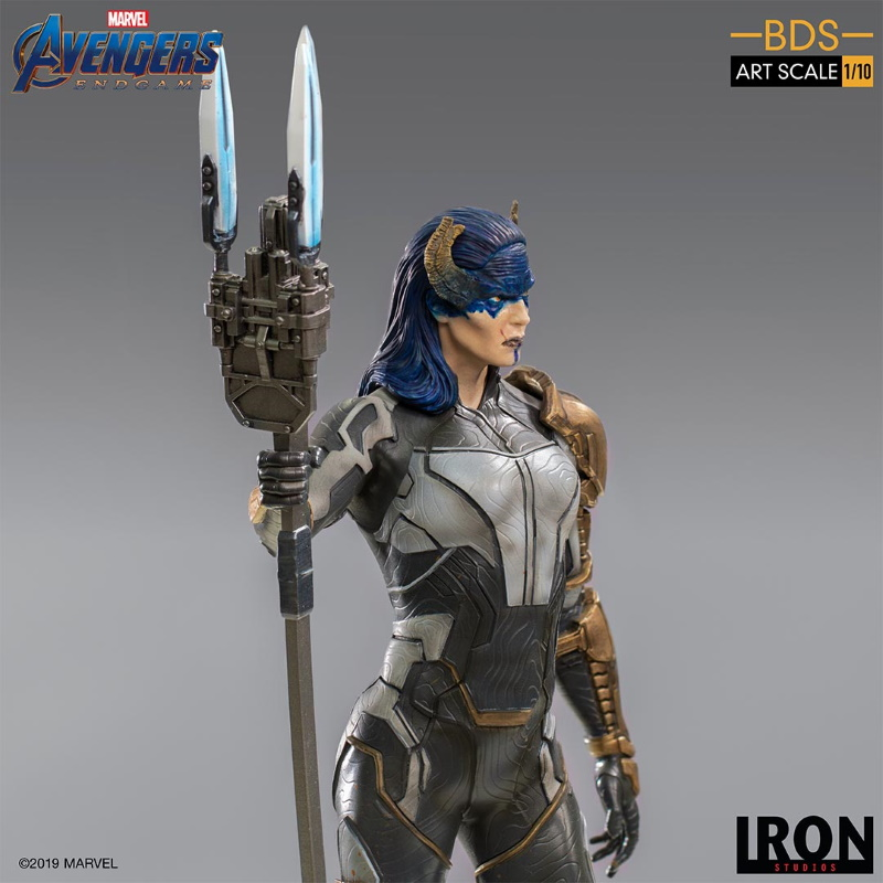 IRON STUDIOS : Avengers: Endgame - Proxima Midnight Black Order BDS Art Scale 1/10 Proxim17