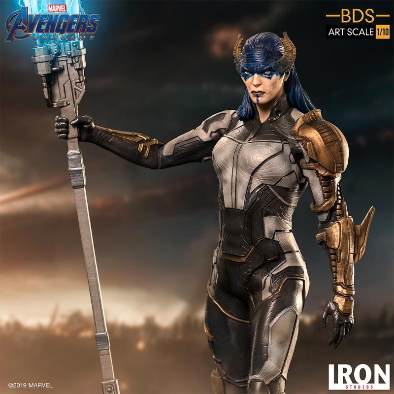 IRON STUDIOS : Avengers: Endgame - Proxima Midnight Black Order BDS Art Scale 1/10 Proxim21