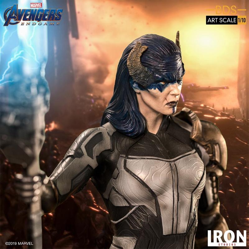 IRON STUDIOS : Avengers: Endgame - Proxima Midnight Black Order BDS Art Scale 1/10 Proxim22