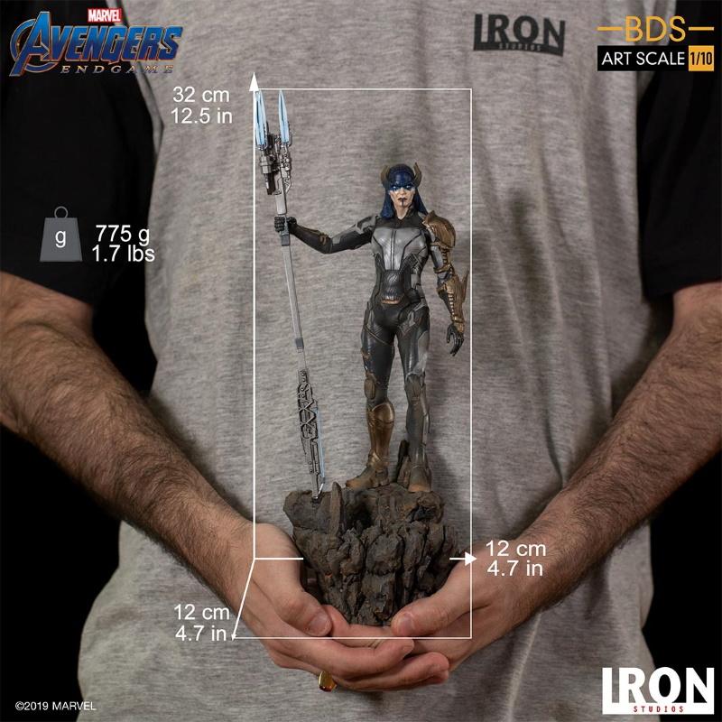 IRON STUDIOS : Avengers: Endgame - Proxima Midnight Black Order BDS Art Scale 1/10 Proxim24