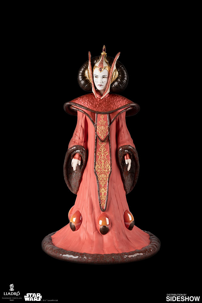 Lladró : Star Wars - Queen Amidala in Throne Room Porcelain Figurine Queen-11