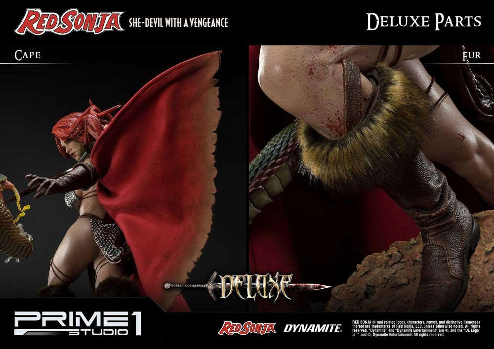 RED SONJA - She-Devil with a Vengeance 1/3 scale deluxe statue Red_so22