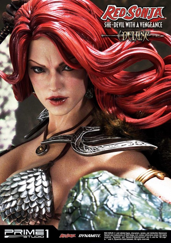 RED SONJA - She-Devil with a Vengeance 1/3 scale deluxe statue Red_so26
