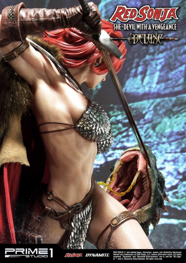 RED SONJA - She-Devil with a Vengeance 1/3 scale deluxe statue Red_so28
