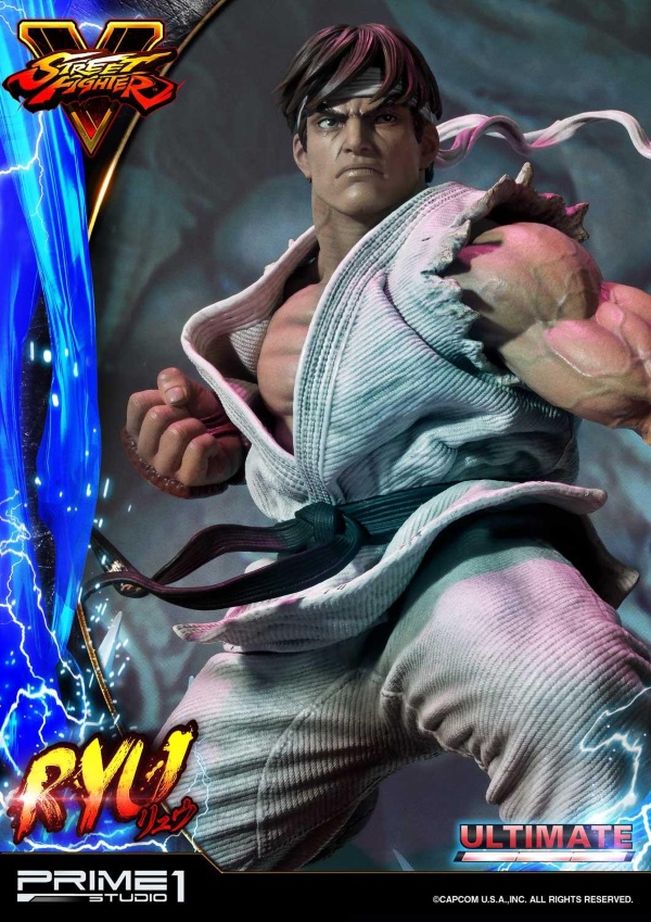 Street Fighter V – Ryu 1/4 Statue Ryu_st10