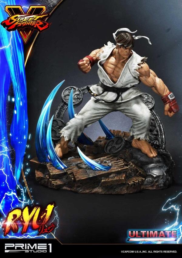 Street Fighter V – Ryu 1/4 Statue Ryu_st11
