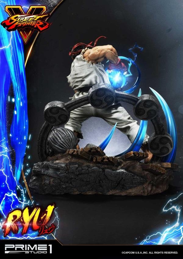 Street Fighter V – Ryu 1/4 Statue Ryu_st14