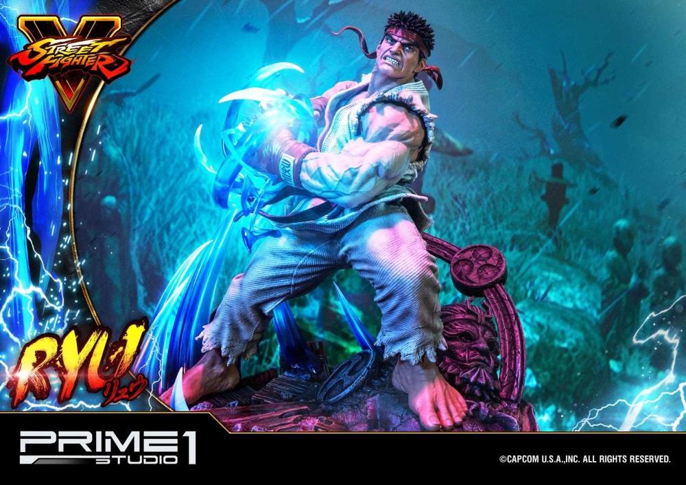 Street Fighter V – Ryu 1/4 Statue Ryu_st15