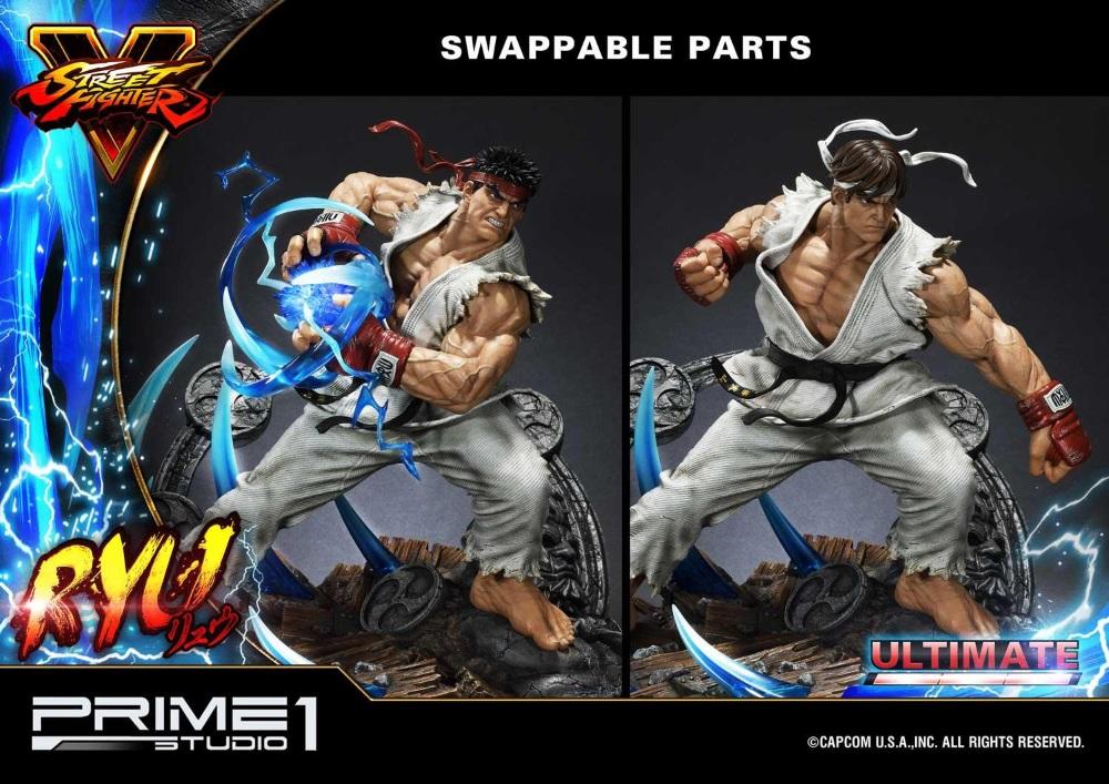 Street Fighter V – Ryu 1/4 Statue Ryu_st17