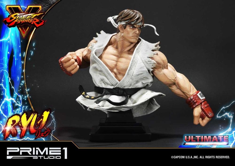 Street Fighter V – Ryu 1/4 Statue Ryu_st18