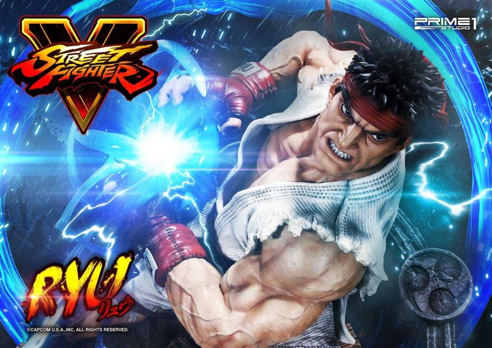 Street Fighter V – Ryu 1/4 Statue Ryu_st19