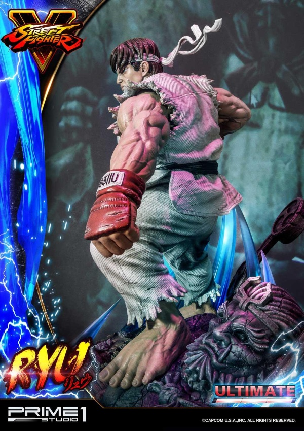 Street Fighter V – Ryu 1/4 Statue Ryu_st20