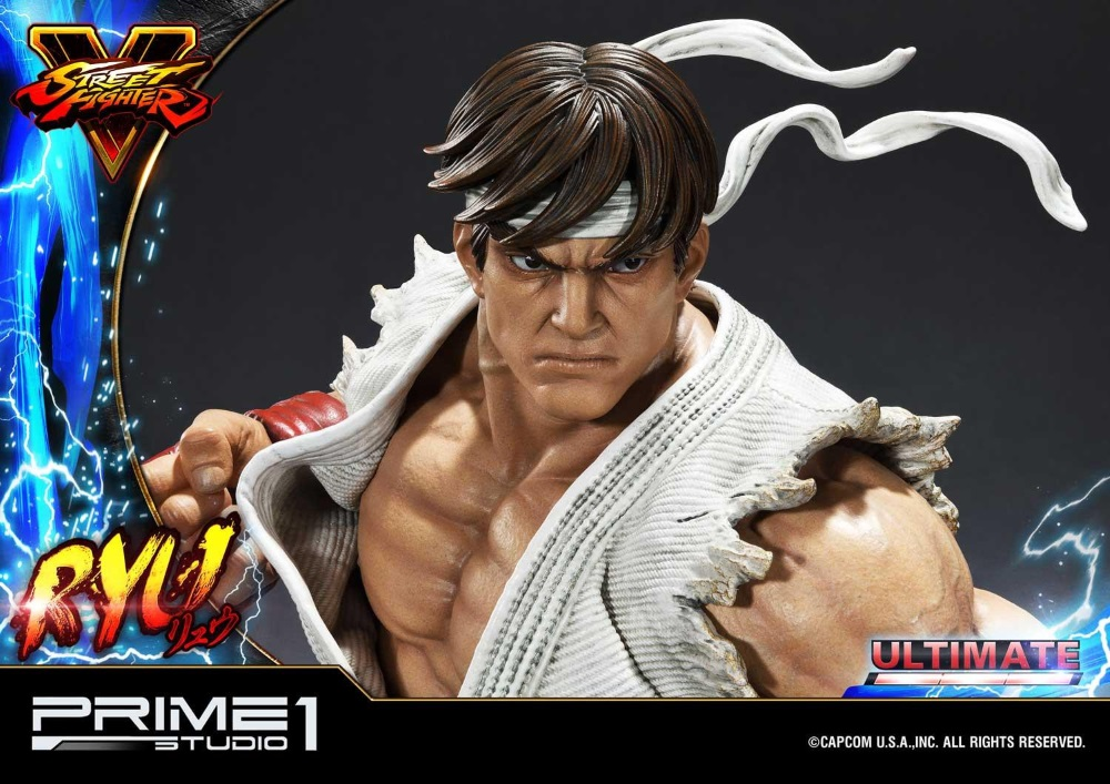 Street Fighter V – Ryu 1/4 Statue Ryu_st21