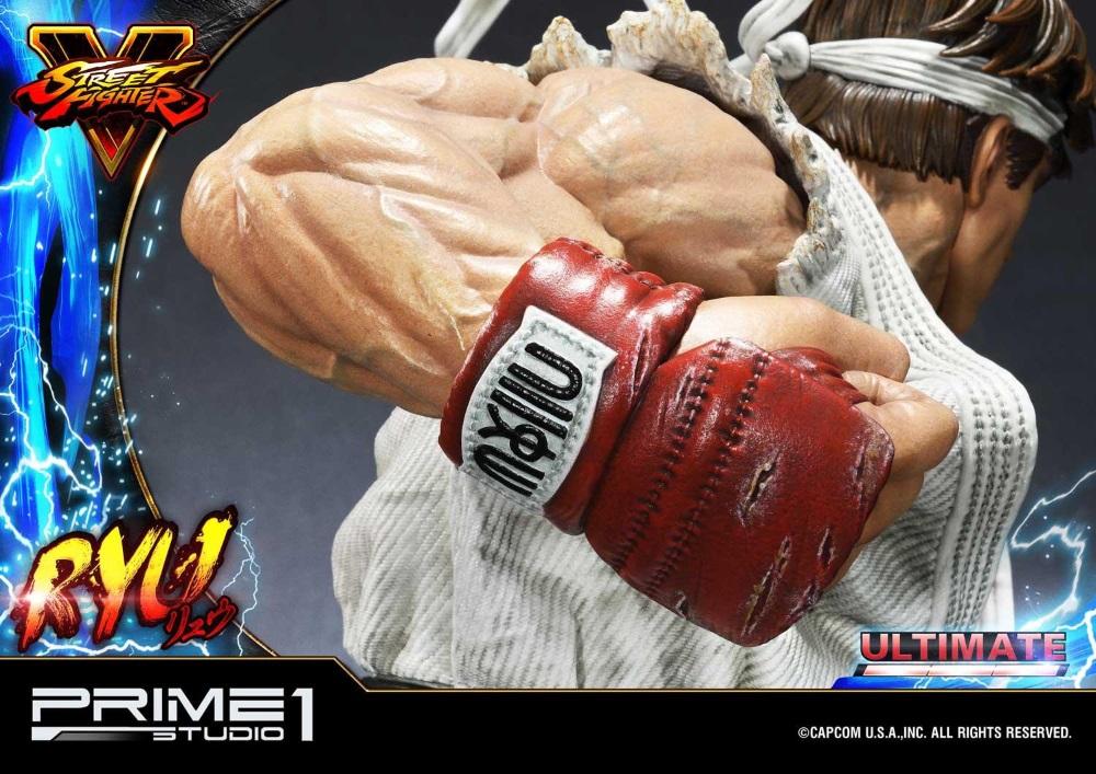 Street Fighter V – Ryu 1/4 Statue Ryu_st22