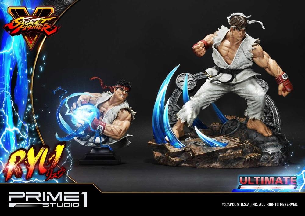 Street Fighter V – Ryu 1/4 Statue Ryu_st23