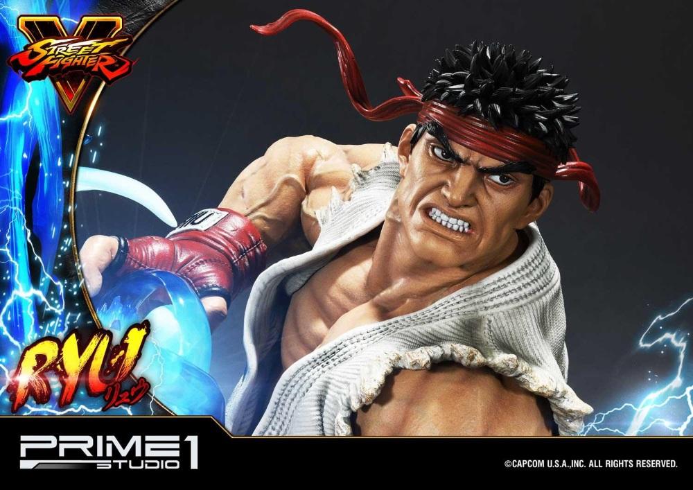 Street Fighter V – Ryu 1/4 Statue Ryu_st24