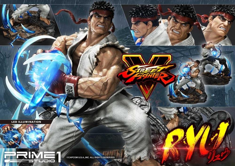 Street Fighter V – Ryu 1/4 Statue Ryu_st26