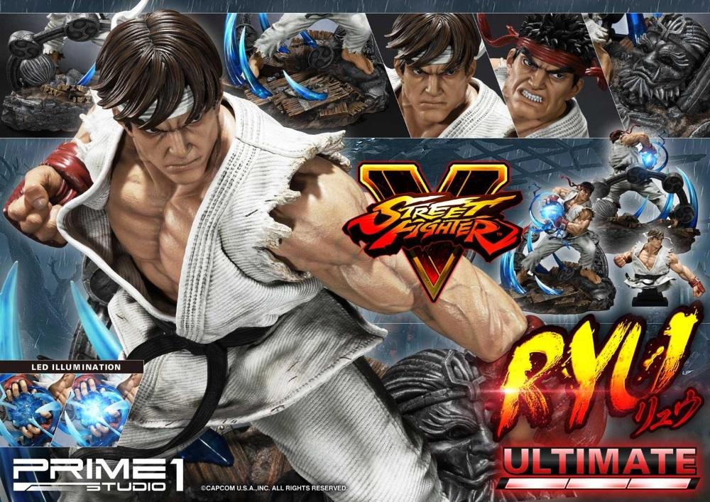 Street Fighter V – Ryu 1/4 Statue Ryu_st27
