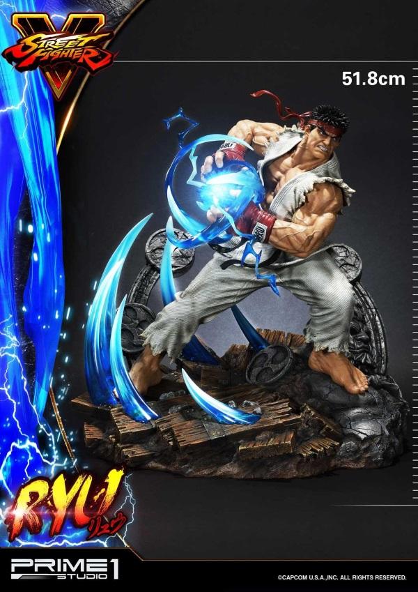 Street Fighter V – Ryu 1/4 Statue Ryu_st29