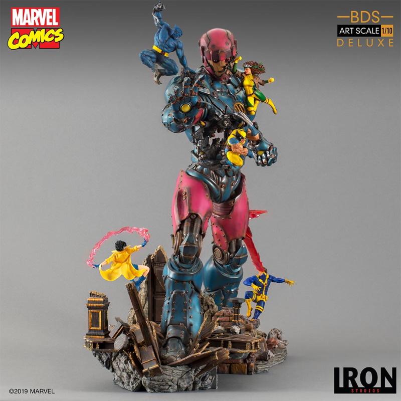 IRON STUDIOS : X-Men vs Sentinel 1/10 Scale Deluxe Statue Sentin33