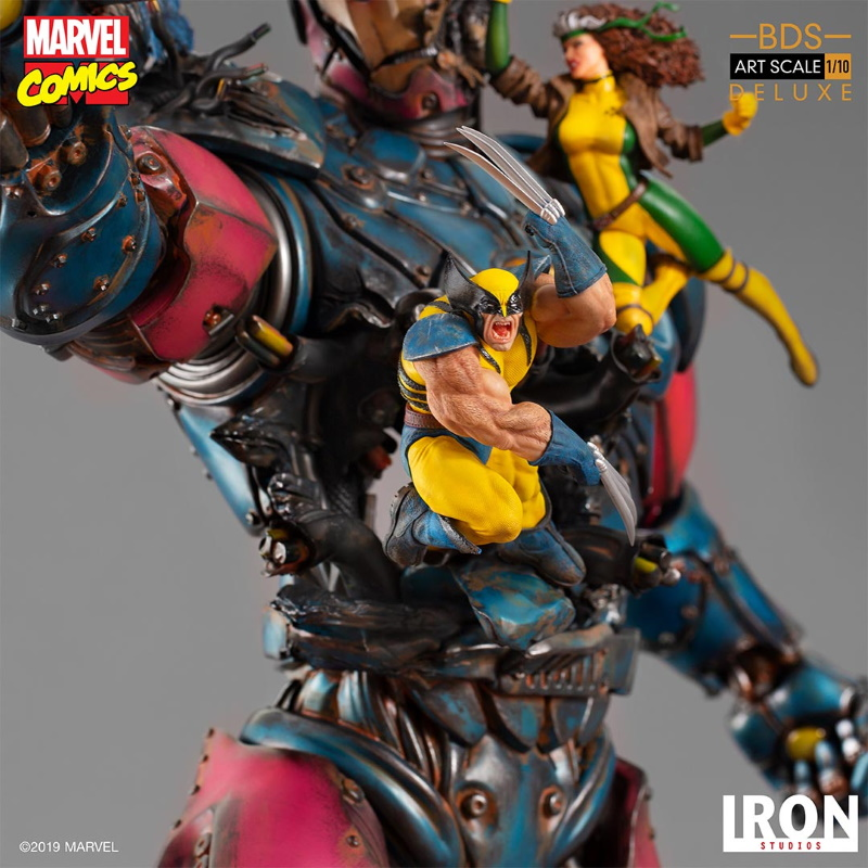 IRON STUDIOS : X-Men vs Sentinel 1/10 Scale Deluxe Statue Sentin42