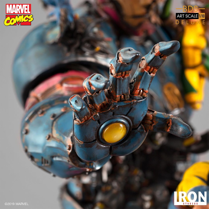 IRON STUDIOS : X-Men vs Sentinel 1/10 Scale Deluxe Statue Sentin45