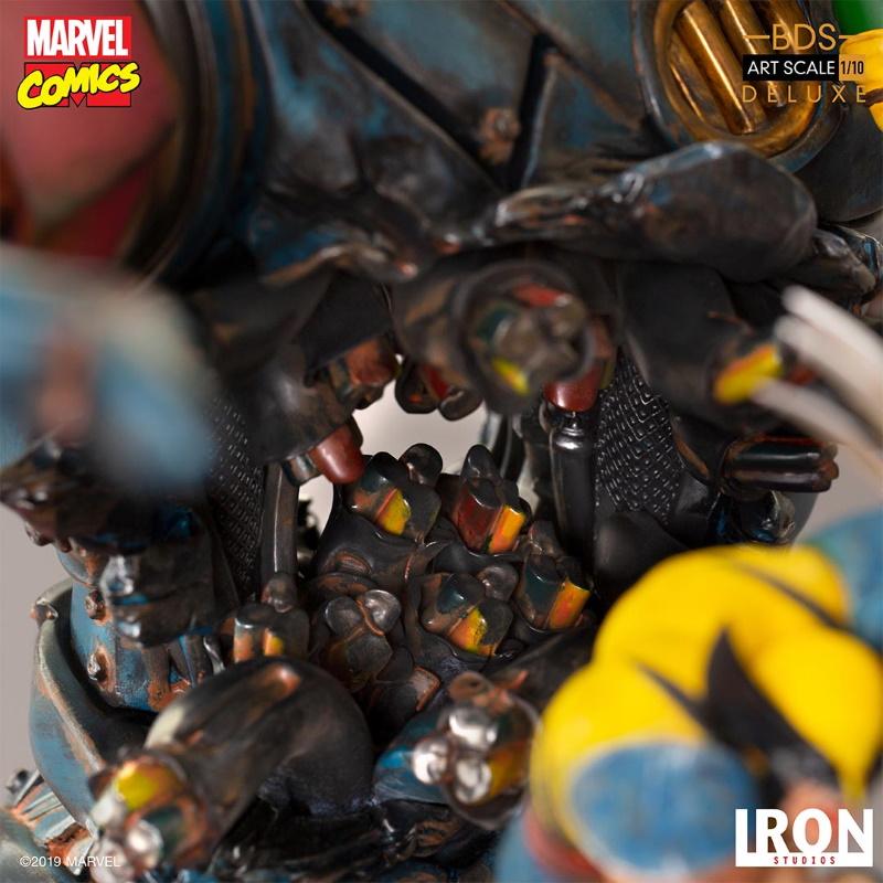IRON STUDIOS : X-Men vs Sentinel 1/10 Scale Deluxe Statue Sentin46