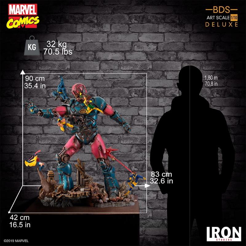 IRON STUDIOS : X-Men vs Sentinel 1/10 Scale Deluxe Statue Sentin50