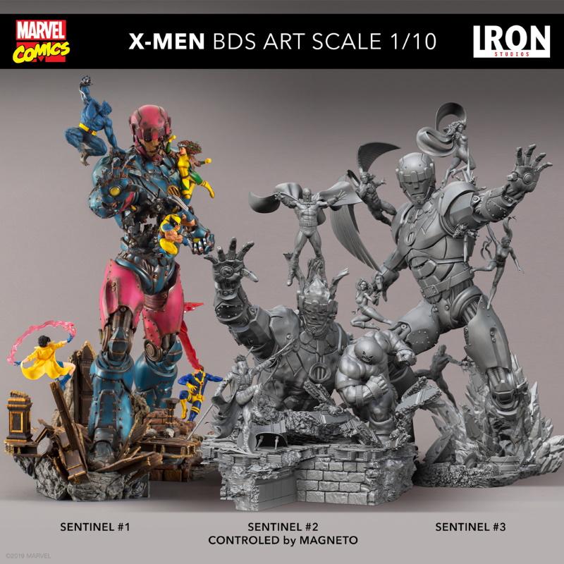 IRON STUDIOS : X-Men vs Sentinel 1/10 Scale Deluxe Statue Sentin51