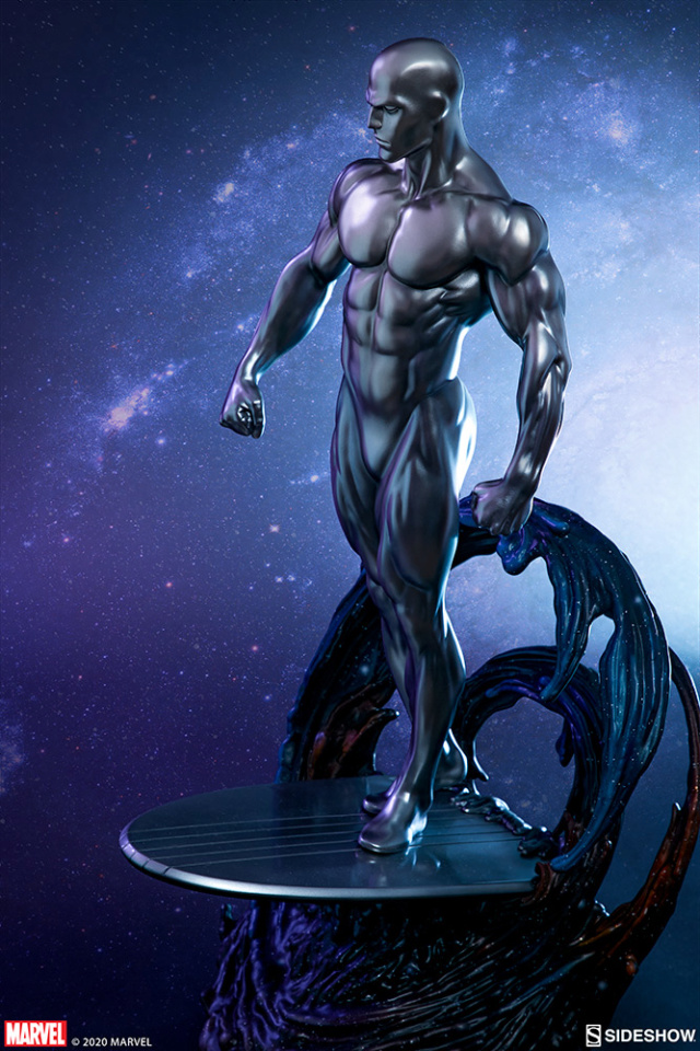Silver Surfer Maquette Sides155