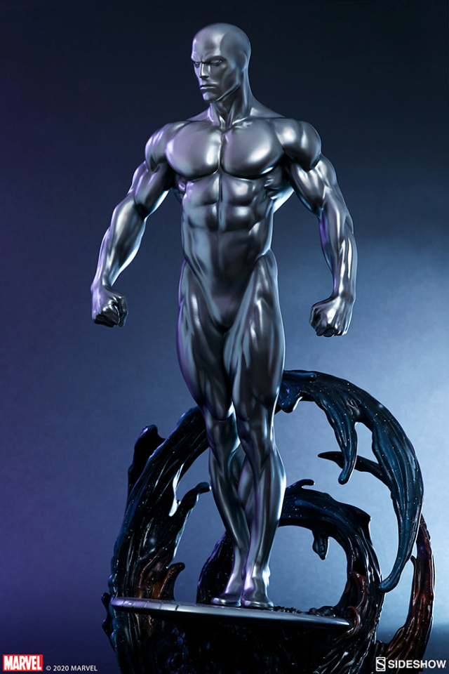 Silver Surfer Maquette Sides156