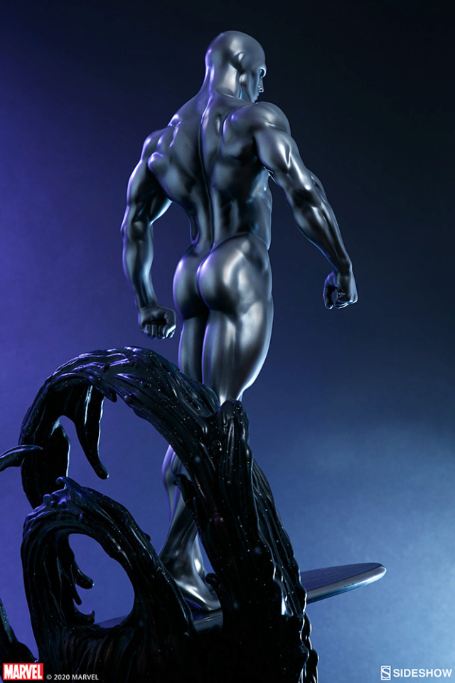Silver Surfer Maquette Sides157