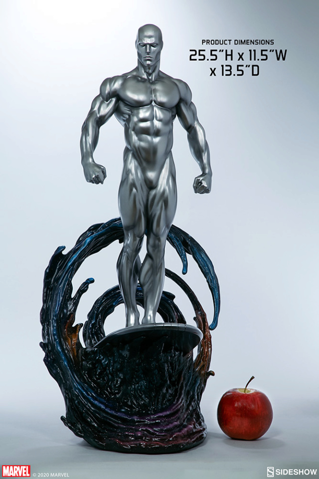 Silver Surfer Maquette Sides158